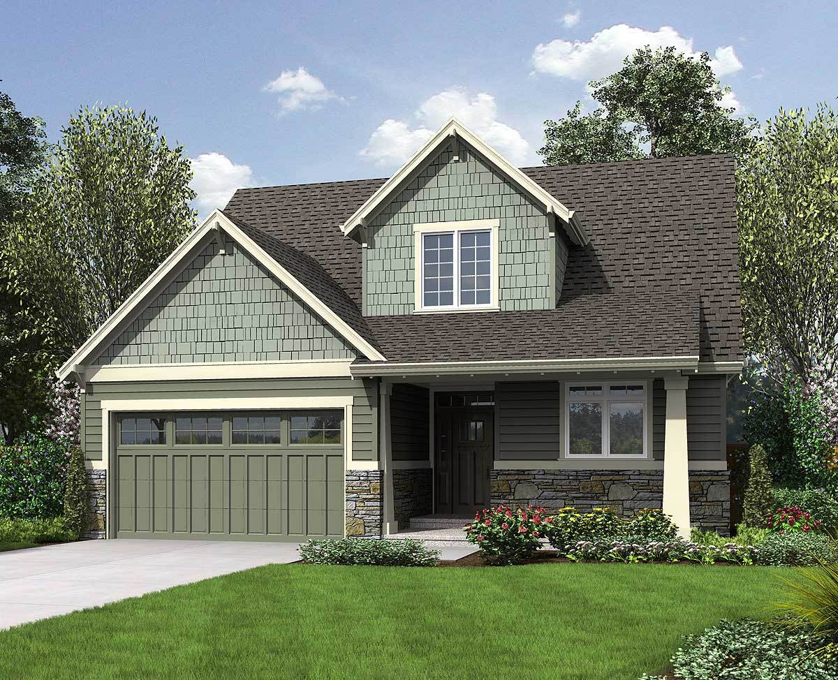 Compact Northwest Home Plan 69526am Architectural