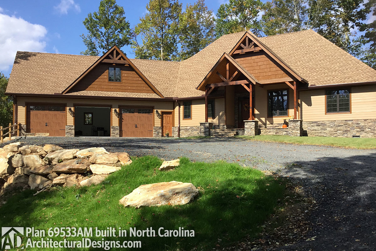 House Plan 69533am Comes To Life In North Carolina