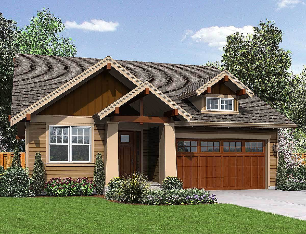 3 bedroom craftsman ranch home plan 69554am for 3 bedroom craftsman style house plans
