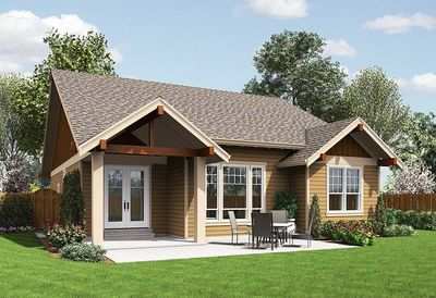 3 bedroom craftsman ranch home plan - 69554am | architectural