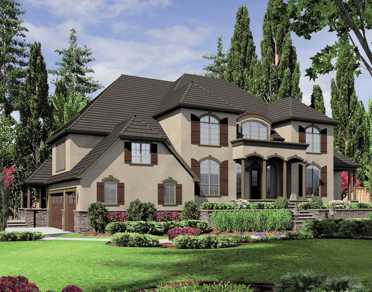 Dazzling european home plan 69564am architectural for Europeanhome com