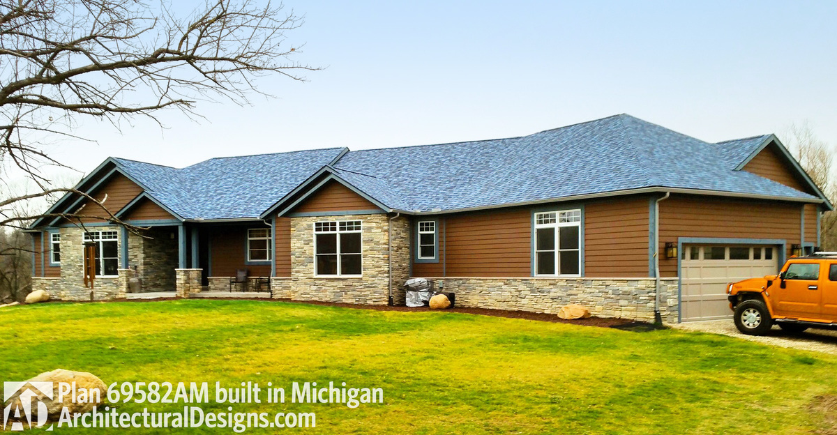 House plan 69582am comes to life in michigan for Michigan house plans