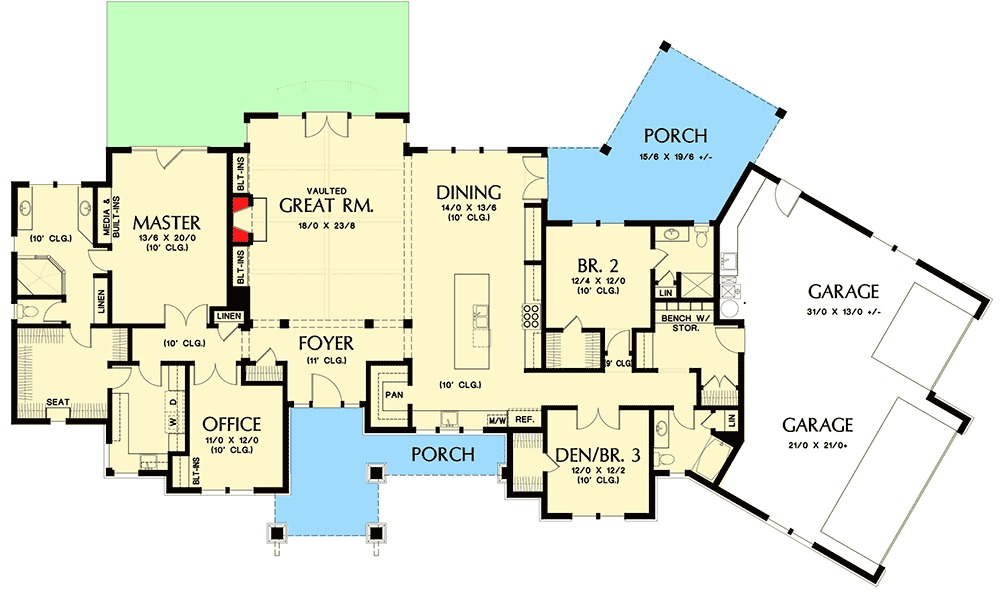 Architectural designs Sip homes floor plans