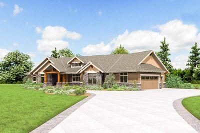 Elegant Beautiful Northwest Ranch Home Plan   69582AM Thumb   37