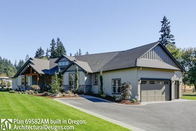 House Plan 69582AM comes to life in Oregon - photo 003