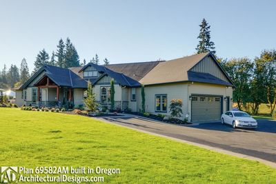 House Plan 69582AM comes to life in Oregon - photo 002