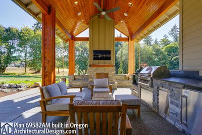 House Plan 69582AM comes to life in Oregon - photo 022