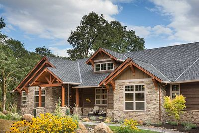 Beautiful Northwest Ranch Home Plan - 69582AM thumb - 04