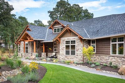 Beautiful Northwest Ranch Home Plan - 69582AM thumb - 03