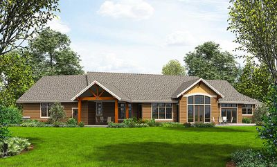 Beautiful Northwest Ranch Home Plan - 69582AM thumb - 22