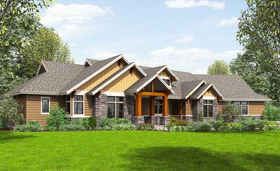 Beautiful Northwest Ranch Home Plan - 69582AM thumb - 21