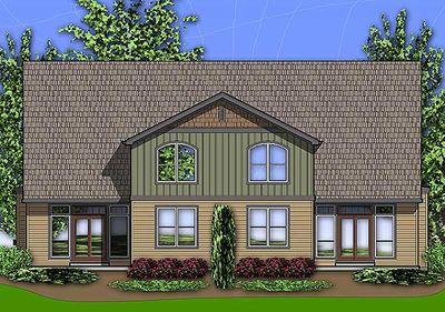Craftsman Duplex 69596am 2nd Floor Master Suite Cad