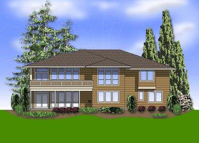Modern Prairie-Style Home Plan - 6966AM thumb - 12