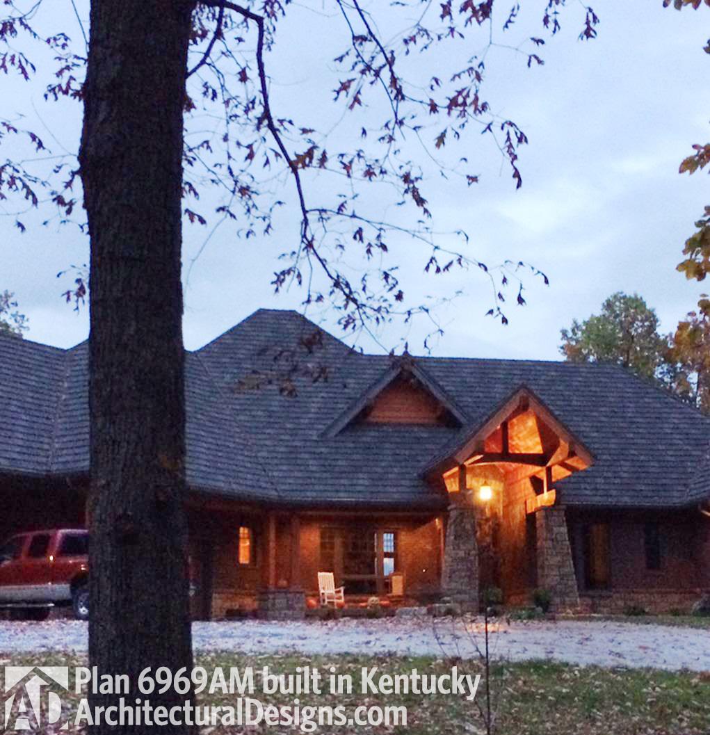 Award Winning Green Home Designs: House Plan 6969AM Client-built In Kentucky