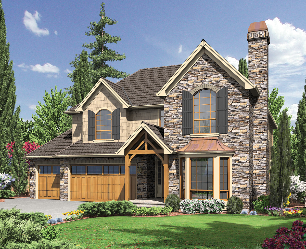English cottage style home plan 6970am architectural for English cottage style home plans