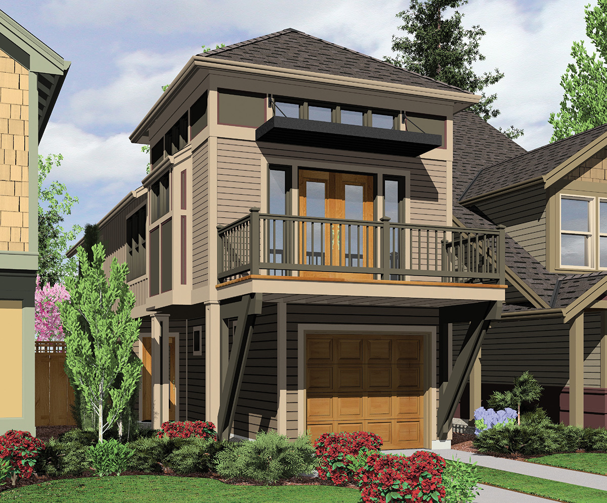 A winner in any neighborhood 6988am architectural for Subdivision house plans