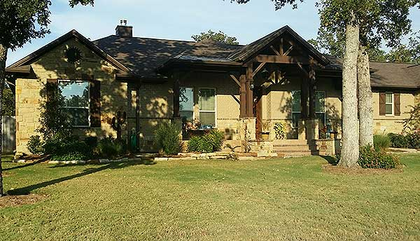 Rustic hill country ranch house plan 70708jr 1st floor for Hill country ranch house plans