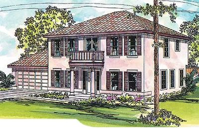 compact yet spacious economical house plan - 72030da