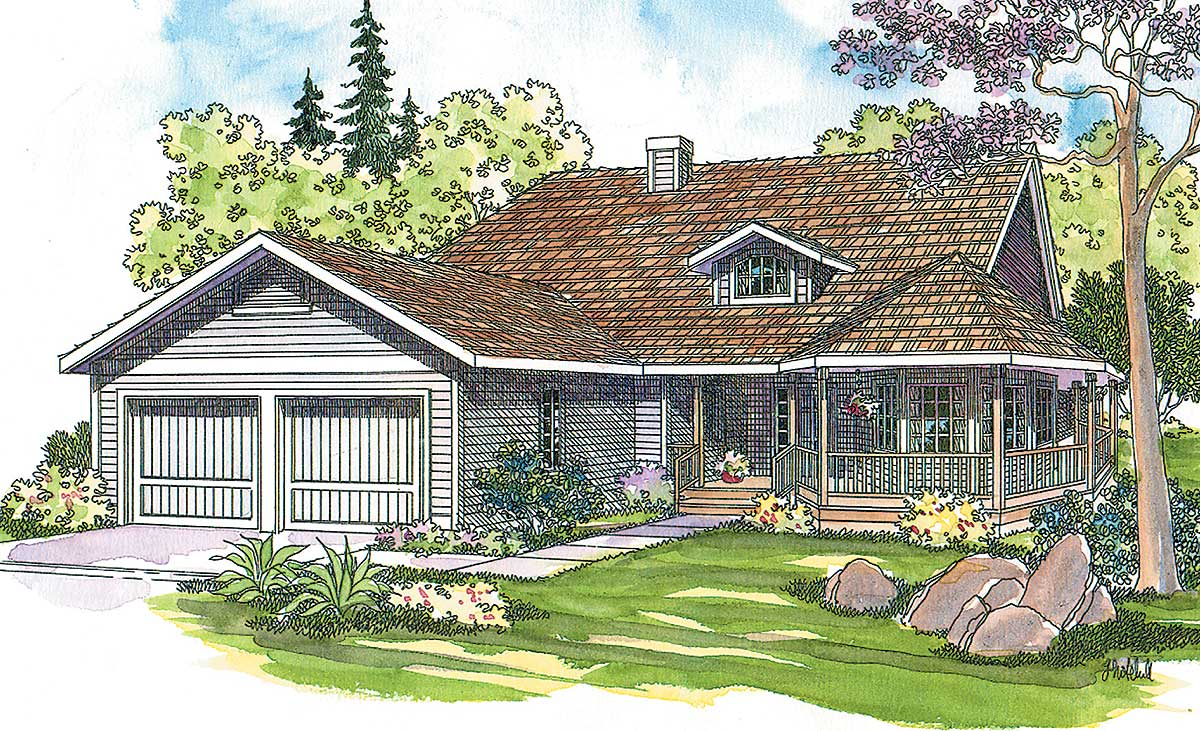Abundant outdoor living spaces 72233da architectural for House plans with outdoor living
