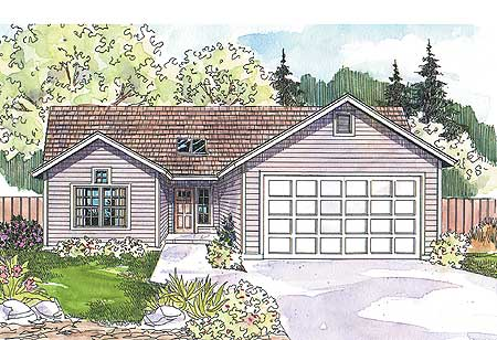 Economical contemporary ranch 72486da 1st floor master for Economical ranch house plans