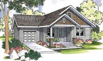 Modest home plan offers modern amenities 72581da for Modest home plans