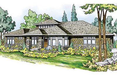 Smart Prairie-Style Home Plan - 72634DA thumb - 01