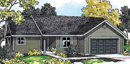 Economical ranch home plan 72654da 1st floor master for Economical ranch house plans