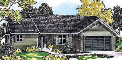 Economical Ranch Home Plan 72654da Architectural