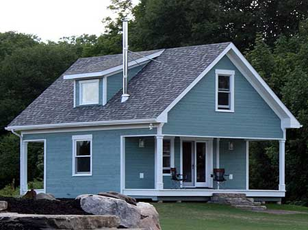 Architectural designs for Cottage guest house plans