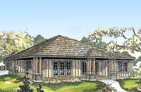 Prairie Style Ranch Home Plan 72678da Architectural