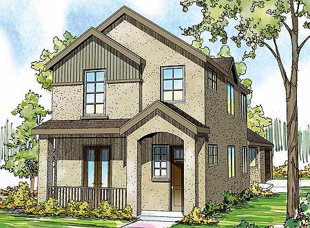 Town Home Plan With Options 72694da Architectural