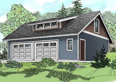 Craftsman carriage house with shed dormer 72794da for Carriage shed plans