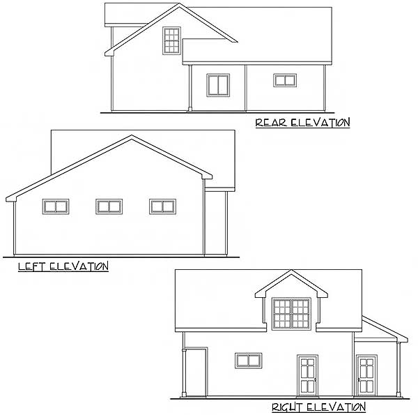 Architectural Designs Carriage House Plan 14631rk Gives: Carriage House With RV Parking - 72796DA