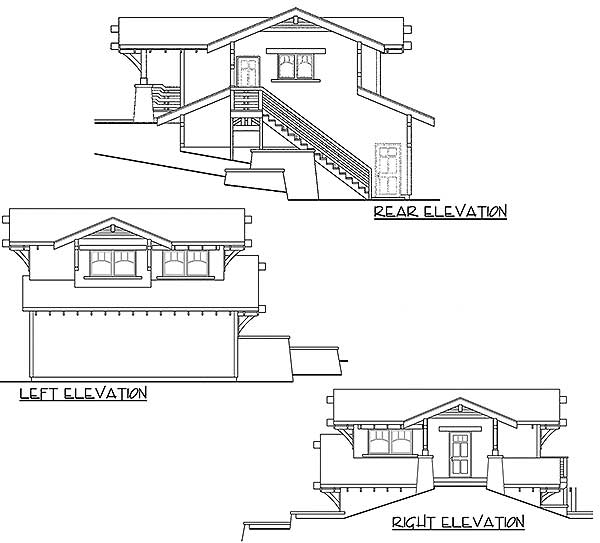 Architectural Designs Carriage House Plan 14631rk Gives: 2 Car Craftsman Carriage House Plan - 72808DA
