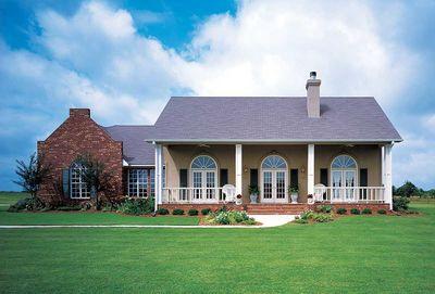 Plantation Style Home Design - 73035HS thumb - 01