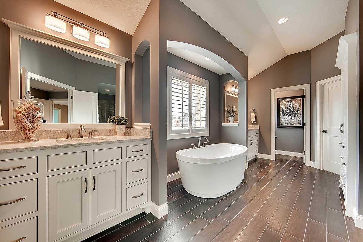 Architectural designs for Small craftsman bathroom design