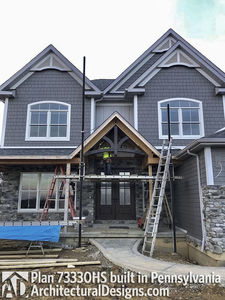 House Plan 73330HS comes to life in Pennsylvania! - photo 040