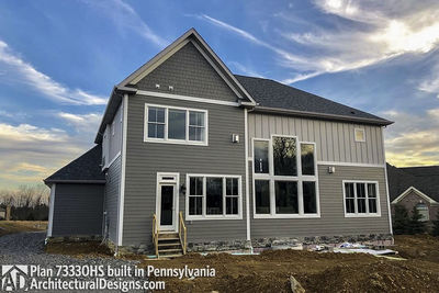 House Plan 73330HS comes to life in Pennsylvania! - photo 042
