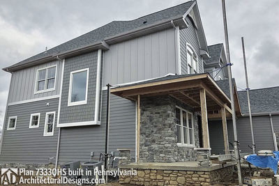 House Plan 73330HS comes to life in Pennsylvania! - photo 044