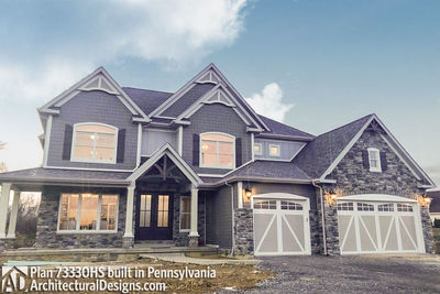 House Plan 73330HS comes to life in Pennsylvania! - photo 038