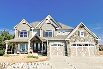 House Plan 73330HS comes to life in Pennsylvania! - photo 006