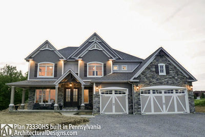 House Plan 73330HS comes to life in Pennsylvania! - photo 005