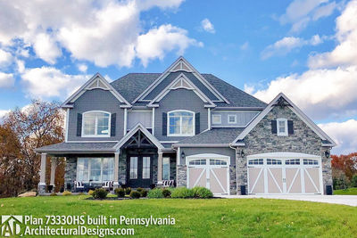 House Plan 73330HS comes to life in Pennsylvania! - photo 004