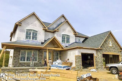 House Plan 73330HS comes to life in Pennsylvania! - photo 051