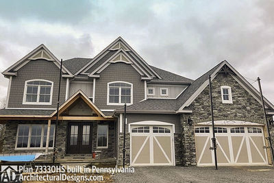House Plan 73330HS comes to life in Pennsylvania! - photo 039