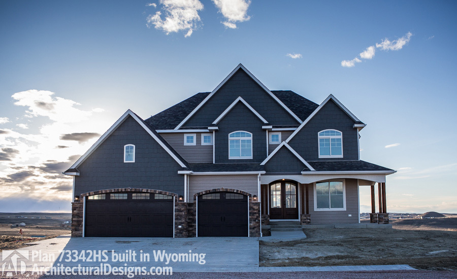 House Plan 73342HS comes to life in Wyoming - photo 001