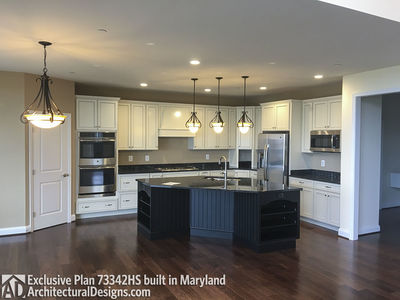 Exclusive House Plan 73342HS comes to life in Maryland - photo 009