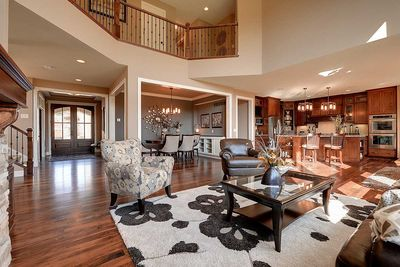 Craftsman Beauty With 2-Story Great Room - 73342HS | Architectural ...