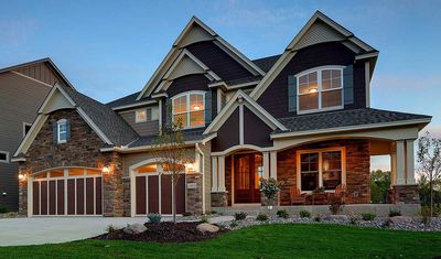 Craftsman Beauty With 2-Story Great Room - 73342HS thumb - 02