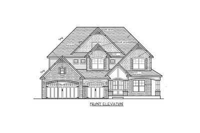 Craftsman Beauty With 2-Story Great Room - 73342HS thumb - 52